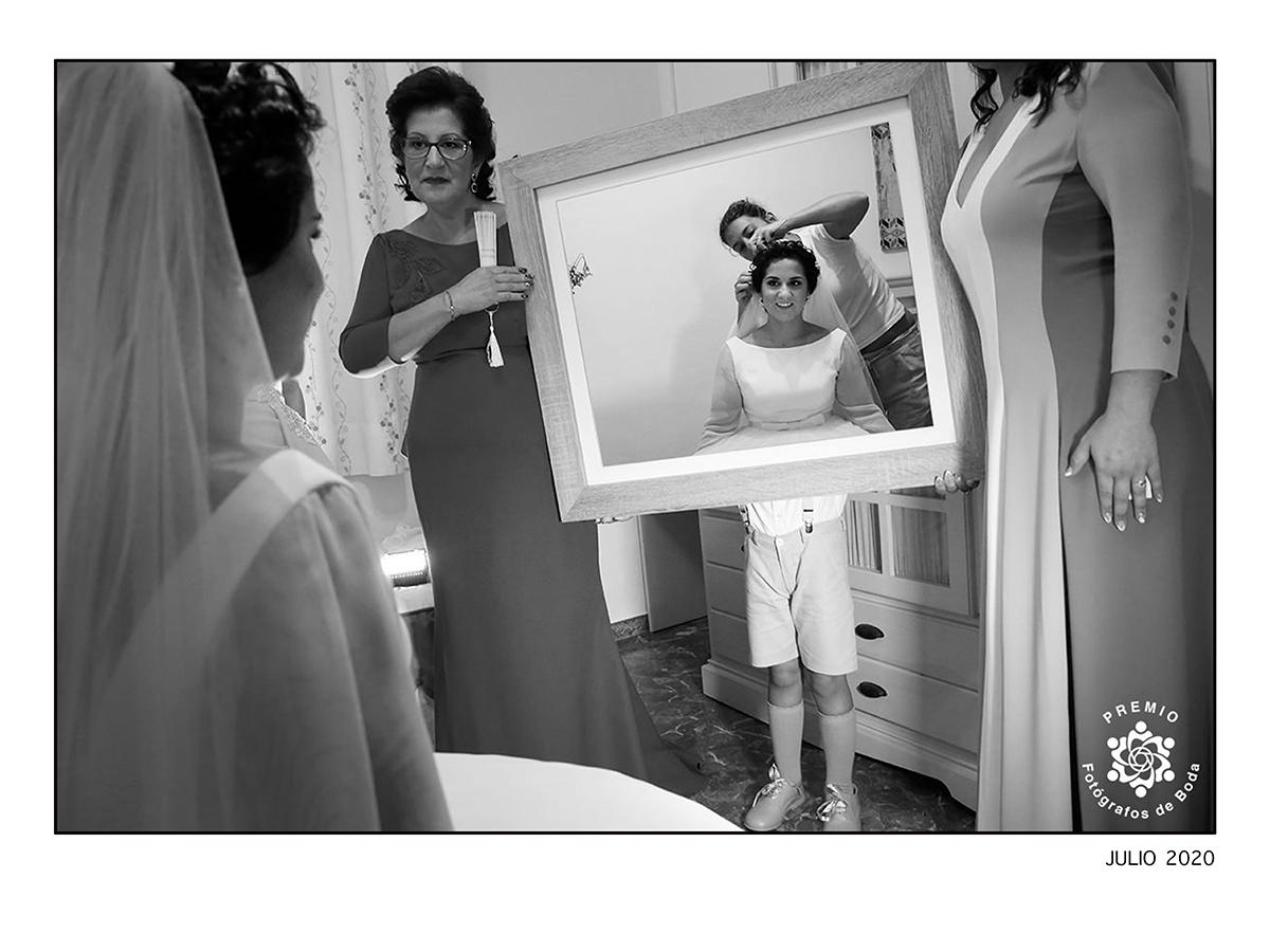 Premio de la asociación Internacional Fotografos de Bodas.